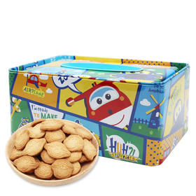 超级飞侠每日曲奇饼干(吃完盒子还可做纸巾盒)