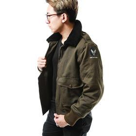 【经典保暖复古】美国陆军航空队毛领印象外套