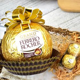 比拳头还大的费列罗见过没?费列罗巧克力巨型金莎大礼球240g
