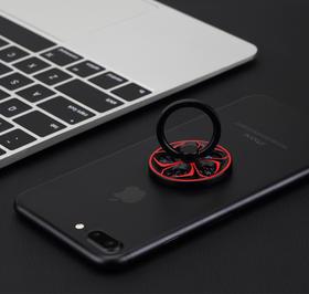 【转的停不下来的陀螺支架,还能减压】ROCK官方手机通用型粘贴式指环支架