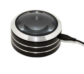 日本3R多功能助眼LED充电放大镜,看书读报神器