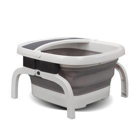 【折叠好收纳 恒温更舒适】朗欣特 折叠式足浴盆电加热 足浴器按摩泡脚盆