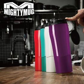 【打不倒的神奇水杯】美国MightyMug 魔术吸盘不倒杯 推不倒的杯子 办公随手杯 专利技术