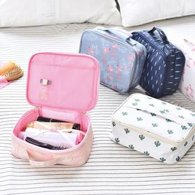 便携旅行化妆包收纳包大容量多功能收纳袋   文具