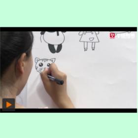 华图教师网 教师面试-幼教技能之简笔画 面试视频课程
