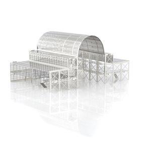 DIY世界著名建筑模型,英国进口MONUmini金属系列