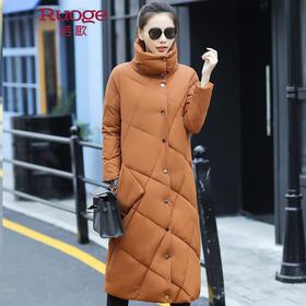 韩版时尚长款修身加厚棉衣外套 HYK1968