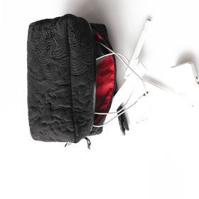不裁HOME[事事如意]系列 绗绣收纳包