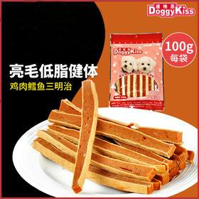 道格思 鸡肉深海鳕鱼三明治(100克)