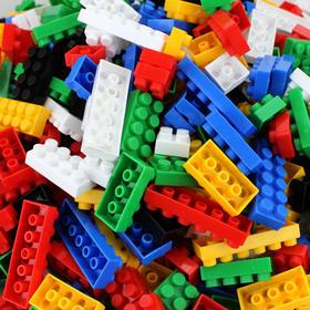 儿童288颗粒塑料积木玩具启蒙益智力拼插男孩拼装