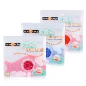 韩国原产 美国品牌Innobaby鱼形儿童洗澡硅胶刷 去头垢适用