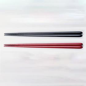 【五角筷】日本越前漆器 夫妻对筷