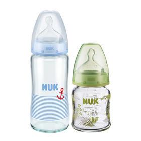 德国NUK玻璃奶瓶120ml/240ml 多选 颜色随机发送