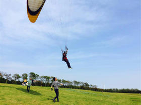 顾村公园滑翔伞体验+皮划艇娱乐