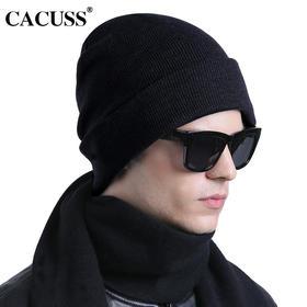 【帽子】*cacuss新品帽子男女秋冬针织帽纯棉毛线帽韩版保暖休闲潮牌包头帽 | 基础商品