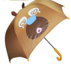 熊出没系列—熊二卡通儿童伞