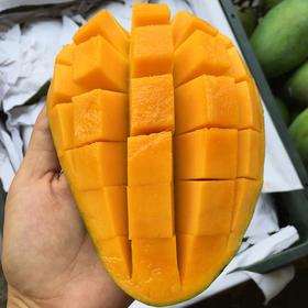 【南海网微商城】泰国新鲜大青芒 核薄肉厚 约8斤