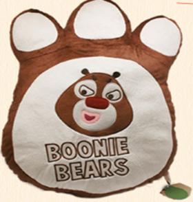 熊出没系列—熊掌造型抱枕熊大款
