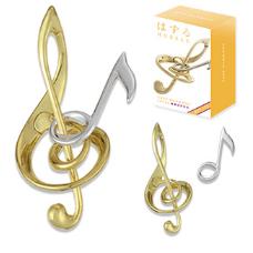 最美解谜玩具,日本金属解谜之最美音符