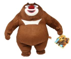 熊出没系列—熊二标准坐姿写实公仔