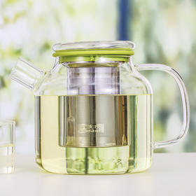 玻璃茶壶透明加厚玻璃大容量耐热家用带盖创意红茶具泡茶壶
