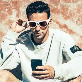 【戴上眼镜听音乐】美国进口 Zungle 骨传导耳机眼镜 无线蓝牙太阳镜 头戴耳挂式耳机