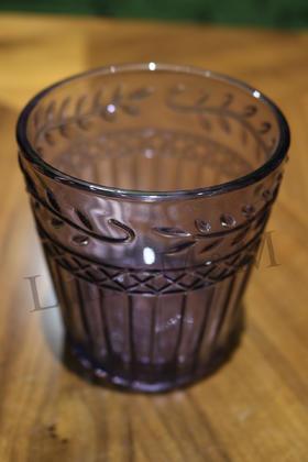 C28线条柳叶水杯系列-紫色