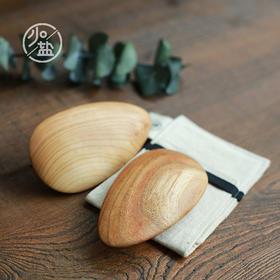 【少点盐】排毒器具|手工制作|疏通经络|木质刮痧板
