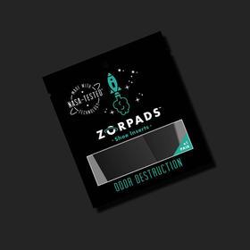 美国Zorpads神奇除臭贴无织布吸附能力强鞋子祛味贴