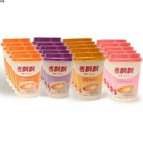香飘飘奶茶椰果4组合原味香芋草莓麦香口味奶茶30杯