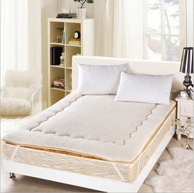 羊羔绒加厚防滑超柔单双人榻榻米床褥子 床垫