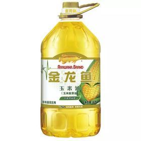 【果果生鲜】金龙鱼玉米油4L 一桶装