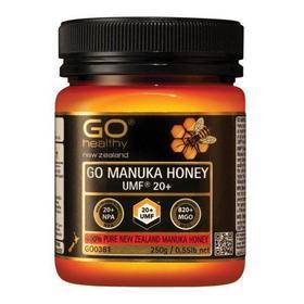 Go Healthy 高之源蜂蜜 麦卢卡蜂蜜UMF20+(MGO821)胃溃疡辅助治疗最佳【新西兰直邮】