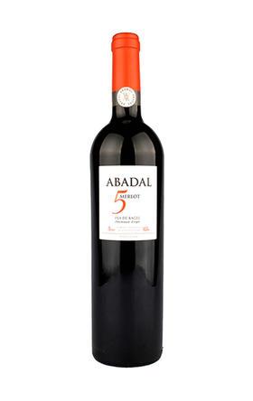 阿黛儿梅洛干红葡萄酒2014/Abadal 5 Merlot2014