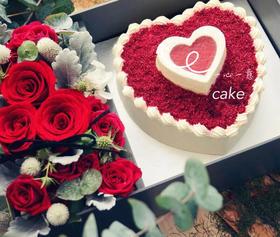 鲜花礼盒蛋糕