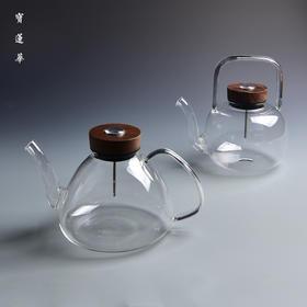 感温式玻璃壶  煮茶壶 电陶炉可用