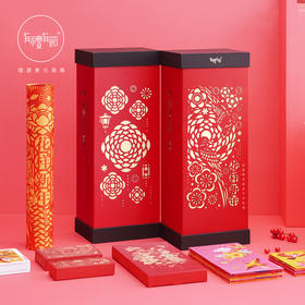 2018有礼有节花样新年春节对联大礼包 春节福字贴 红包 扑克牌中国节礼盒
