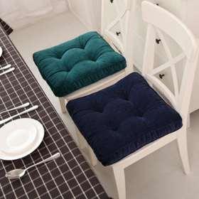 布谷 坐垫餐椅垫灯芯绒榻榻米汽车坐垫沙发垫子