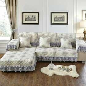 可定制 四季通用布艺沙发垫全盖坐垫欧式全包简约现代沙发套罩巾