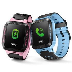 小天才电话手表Y03智能防水快充儿童手表学生定位电话手环手机