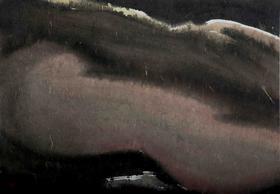 大班新水墨人体系列作品  / 《人体山水1 》/68x47cm