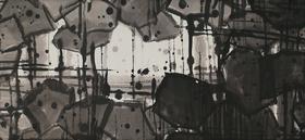 大班新水墨抽象系列作品 /《无题 》/ 299X118cm