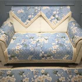 花边款全棉沙发垫