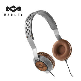 BOB MARLEY马利 Liberate 头戴式耳机 金属铝材质三键线控 JH073