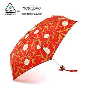英国富尔顿William Morris 设计师联名款 超轻便携五折伞