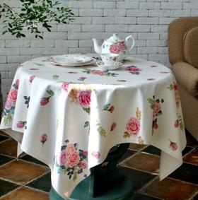 加厚棉麻混纺 桌布 家宴轰趴下午茶 英伦风 满包邮