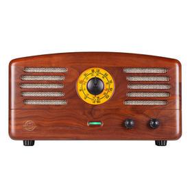 MAO KING猫王1(胡桃木)收音机 老人广播复古电子管实木蓝牙音箱