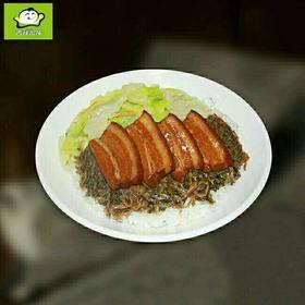 梅菜扣肉饭  15