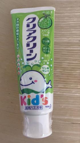 花王儿童牙膏 甜瓜味