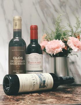 【闪购】波尔多左岸小瓶套装_375ml(3瓶装)/ Bodeaux Rive Gauche Set_375ml